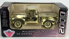 Very Rare Model Car / Truck / 1949 Chevy Pickup / Gold 2000 Mellennium / Limited