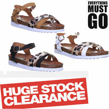Animal Print Casual Strappy Sandals & Beach Shoes for Women