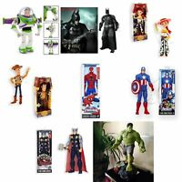 Marvel Disney Lightyear Captain America Spiderman Batman Hulk Action Figures Toy