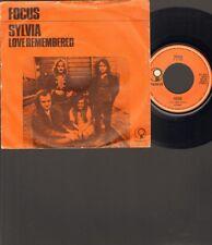 "FOCUS SYLVIA 7"" SINGLE 1972 Jan Akkerman NEDERPOP"