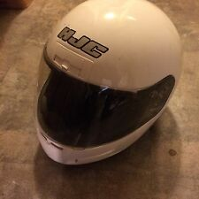HJC CL-12 Mission Motorcycle Helmet White Small SNELL 95 Approved