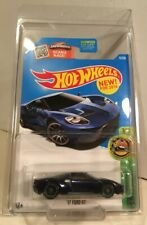 2016 Hot Wheels Super Treasure Hunt ** '17 Ford GT **  with protecto