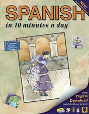 SPANISH in 10 minutes a day: Language course for beginning and advanced study. I