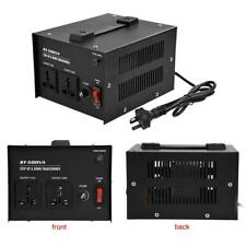 500W Watt Voltage Transformer Step Up Down 110V to 220V Converter Heavy Duty HOT