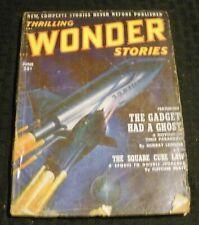 1952 June THRILLING WONDER STORIES Pulp Magazine v.40 #2 GD+ 2.5 Murray Leinster