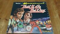 Various – That'll Be The Day  2 x Vinyl LP Comp 33rpm Ronco – MR 2002/3 1973