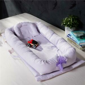 Newborn Baby Nest Cotton Bednest Launger Premium Large Grande Like Dockatot Crib