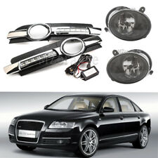 Daytime Running+Fog Light Lamp Grills DRL for Audi A6 A6L C6 Quattro 05 06 07 08