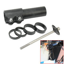 BMX MTB Bicycle Cycling Head-Up Stem Raiser Riser Handlebar Extension Black