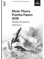 ABRSM Music Theory Practice Papers Model Answers 2018 - Grade 3 (Answers Only)