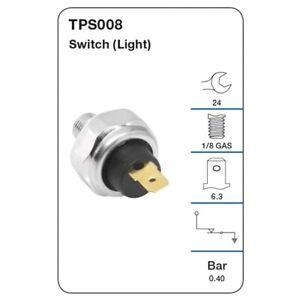 Tridon Oil Pressure Switch TPS008 fits Mitsubishi 380 3.8 i (DB)