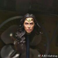 SFABS Wonder Woman BvS Justice League Gal Gadot 1/12 Scale Head Sculpt
