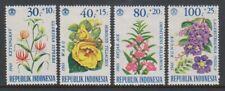 Indonesia - 1965, Flowers set - M/M - SG 1064/7