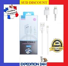 CABLE LIGHTNING POUR IPHONE USB CHARGEUR 5 6 6S 6 PLUS SE 7 PLUS 8 X XS XR IPAD