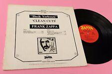 FRANK ZAPPA LP SHEIK YERBOUTI PROMO USA 1979 EX TOOOOPPPP RARE PROMOTIONAL