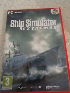 SHIP SIMULATOR EXTREMES PC _ UK ENGLISH  _ MUST PLAY STEAM _ NEW UNSEALED