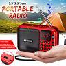 Mini Tragbares Radio LCD Digital FM USB TF MP3-Player Lautsprecher A