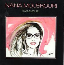 ★☆★ CD Nana MOUSKOURI Par Amour  MINI LP REPLICA  CARD SLEEVE ★☆★