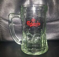 RARE COLLECTABLE CARLSBERG DRAUGHT BEER GLASS MUG BRAND NEW NEVER USED