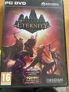 Pillars of Eternity Pc Dvd Game Gaming