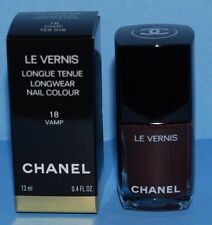 CHANEL Ltd Edition LE VERNIS Longwear Nail Polish #18 VAMP NIB