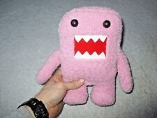 "Plush Pink Domo Kun Anime 10"" Toy Stuffed Animal Doll Figure Nanco Valentine"