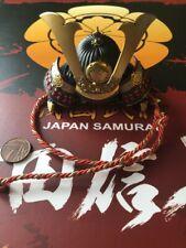 Coo de Metal Samurai Oda le Modelos Japón casco Suelto Escala 1/6th