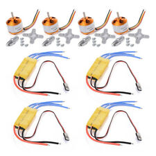 4pcs A2212 1000KV Brushless Motor + 4 pcs 30A ESC for FPV DJI F450 550 Mult A0G2