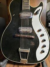 1962 Silvertone Jupiter Sparkle Guitar.