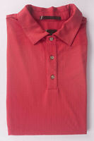 // Tiger Woods Polo Nike Fit Dry Red Size M *1003a3