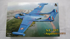 S.E.203  AQUILON   (DH-112 Sea Venom)   1/72 aircraft model kit  IOM kit