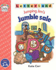 Letterland Jumping Jim's Jumble Sale Katie Carr Paperback 1998 Stage 1 Age 2-4