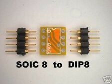 2X PCB SOIC8 to DIP8 - OPA627AU AD797AR AD8610 OPA637AU