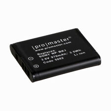 Promaster NP-BK1 Lithium-Ion Battery for Sony #5002 S750 S780 S950 S980 W190 CM1