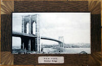 1910 Postcard: Brooklyn Bridge View - New York City NY