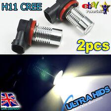 2x H11 CREE 5W LED projector Fog Daytime Light Lamp bulb 6000k White DRL VW AUDI
