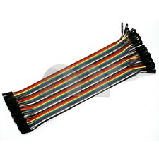 Dupont Wire 20cm Cable Line Color 40P-40P Test Lines Connector