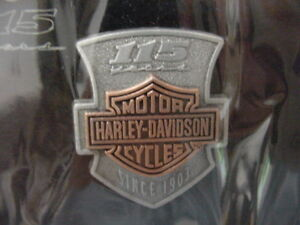 HARLEY DAVIDSON*115TH ANNIVERSARY*METAL PIN*STILL IN THE PACKAGE*BRAND NEW