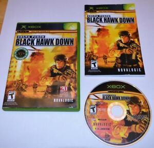 DELTA FORCE: BLACK HAWK DOWN MICROSOFT ORIGINAL XBOX GAME CIB COMPLETE W/ MANUAL