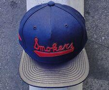 Hall Of Fame Skate Smokers Navy/Black Mens Snapback Hat