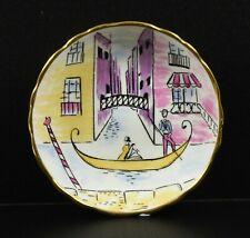 Royal Chelsea Retro 1960's Trinket Dish ~ Gondola