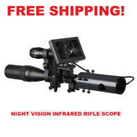 Night Vision Rifle Scope Hunting Sight Tactical 850nm Infrared LED Waterproof US