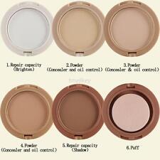 5 Color Makeup Face Pressed Powder Palette Contour Shading Concealer Foundation