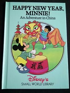 Pre-Owned (Disney's Small World Library) 'Happy New Year, Minnie!' - Acc. Cond.