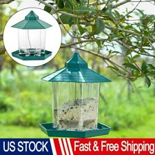 Wild Bird Feeder Vintage Water Proof Hanging Feeder Seed Food Outdoor Waterproof
