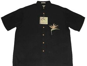 "Bamboo Cay Fine Resortwear - BLACK ""All Star Bird of Paradise"" (Size Options)(3)"