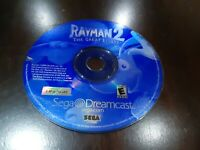 Rayman 2: The Great Escape (Sega Dreamcast, 2000)  Disk only - Tested!!