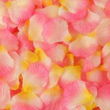 100pcs Simulation Rose Petals Flowers Wedding Marriage Room Supplies mz