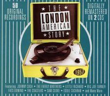 The London American Story 1957 - 50 Original Recordings 2CD NEW/SEALED