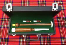 Brand New Scottish HIGHLAND Rosewood Practice chanter with carrying box+2 Reeds